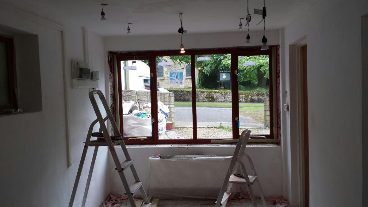 interior spot lighting. Installing LED Spot Lights Interior Lighting