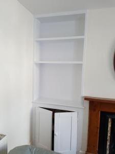 Carpentry Living room shelving
