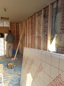 Carpentry Stud wall