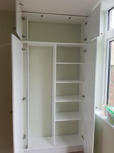 Carpentry wardrobe