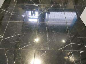 Floor black