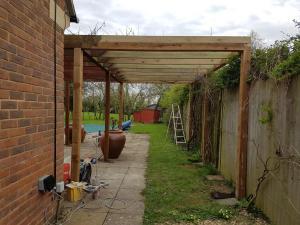Garden Roof Structure