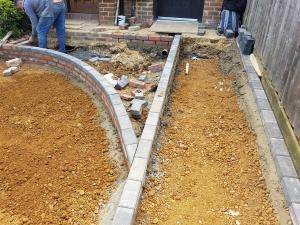 Ground work driveway