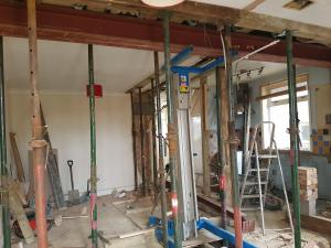 House conversion Remove a wall