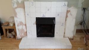 Tiled Chimeney