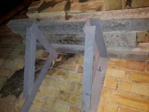 botley Chimney remova gallows brackets