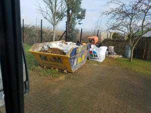 skip for waste disposal